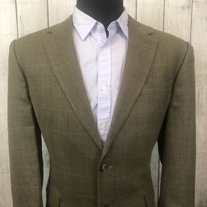 Jos. A. Bank 44R Brown 2-Button Sports Coat